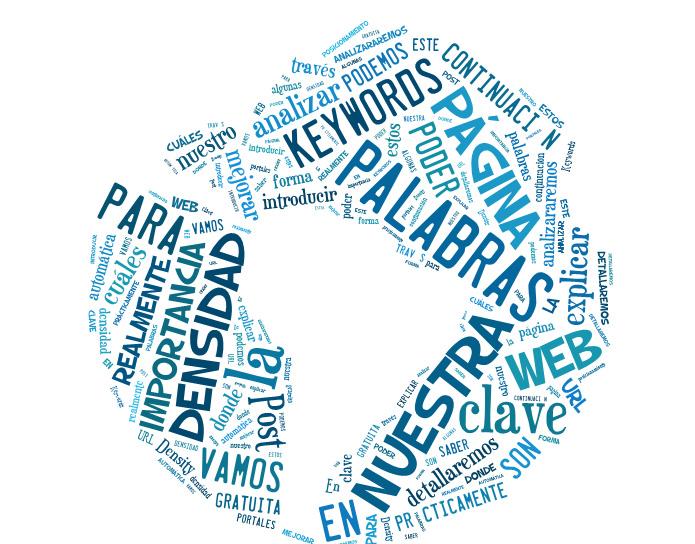 nube etiquetas posicionamiento web Tip semanal para posicionamiento web   Densidad de las palabras clave
